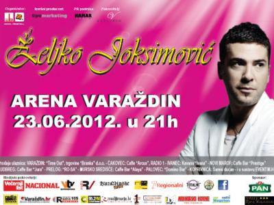 Željko Joksimović osvojio treće mjesto na Eurosongu, a sada kreće sa pripremama za veliki varaždinski koncert, 23.06.2012.