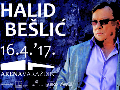 Spektakularni dernek Halida Bešlića u Areni Varaždin