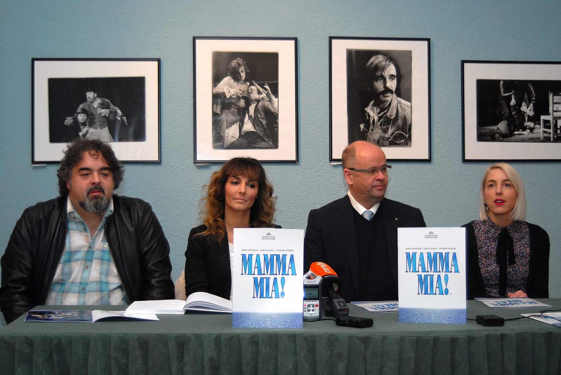 Mamma Mia Photo by Adam Vidas