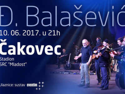 Rasprodana tribina na stadionu SRC Mladost za koncert Đorđa Balaševića, 10.06.2017., u Čakovcu!