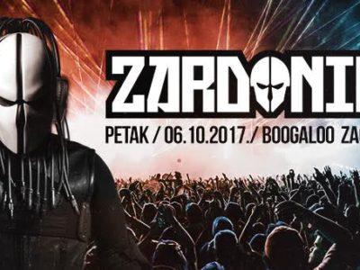 ZARDONIC u Zagrebu, 06.10.2017., Boogaloo