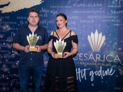Nina Badrić dobitnica prve nagrade publike za hit godine - Cesarica!
