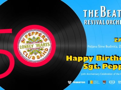 Beatles Revival Orchestra: Happy Birthday, Sgt. Pepper - Zadar, 26.08.2017.