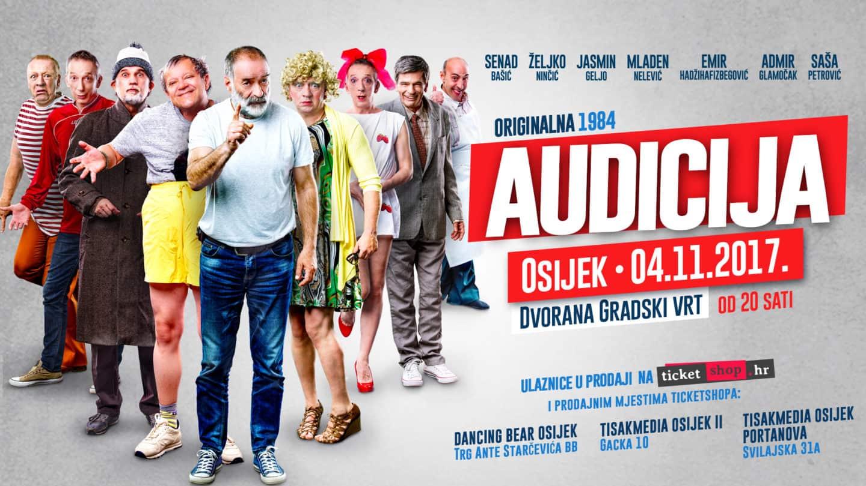 Audicija - Osijek