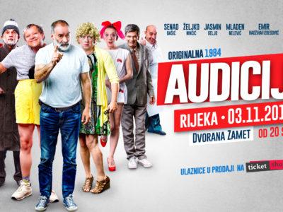 """Turneja """"AUDICIJE"""" se nastavlja - Rijeka, Osijek i Split!"""