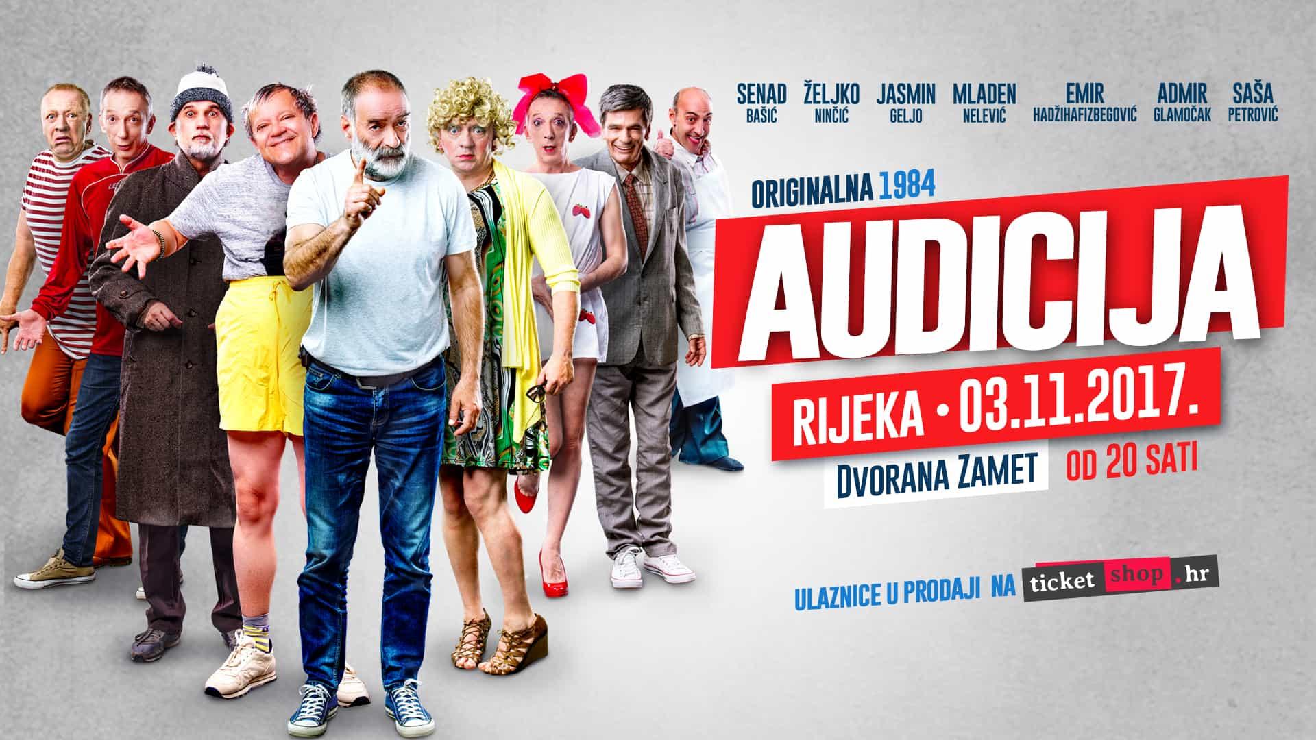 Audicija - Rijeka