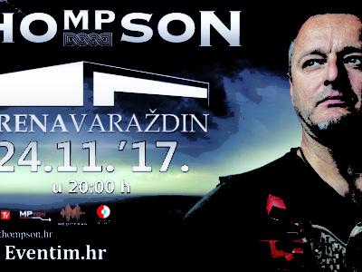 Još jedan veliki koncert Marka Perkovića Thompsona – po prvi put u varaždinskoj Areni!