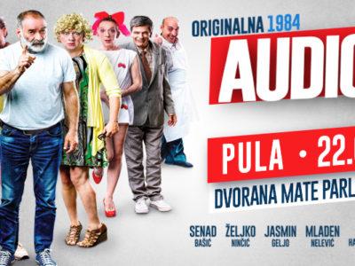 Kultna predstava Audicija nastavlja turneju po Hrvatskoj!