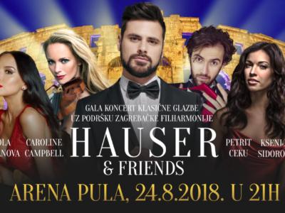 HAUSER & Friends, 24.8.2018., Arena Pula - sve je spremno !!!