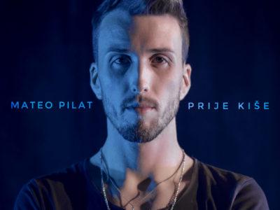 """Novi singl Matea Pilata """"Prije kiše"""" ušao u Hr top 40!"""