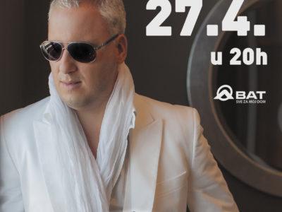 Saša Matić najavljuje glazbeno čudo 27.4.2019., u Areni Varaždin