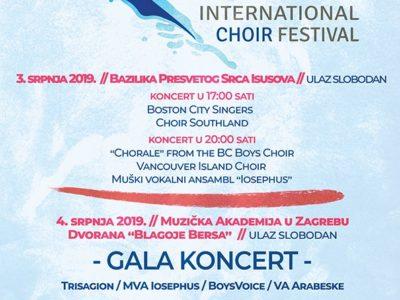 Drugi Croatia International Choir Festival u Zagrebu od 2. – 5. srpnja 2019. u Zagrebu!