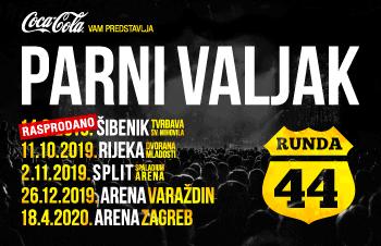 Parni Valjak u sklopu turneje Runda 44 rasprodao koncert i u Šibeniku!