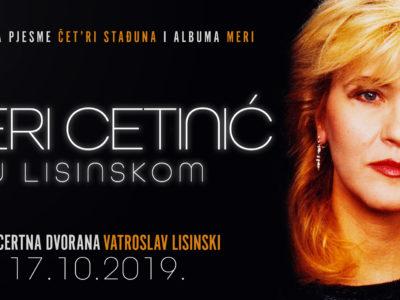 Rođendanski koncert Meri Cetinić u KD Lisinski!