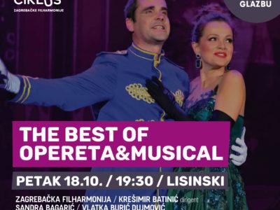 Najbolje od operete i mjuzikla na početku nove sezone Off ciklusa Zagrebačke filharmonije