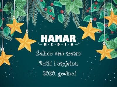 Sretan Božić i uspješnu 2020. godinu !