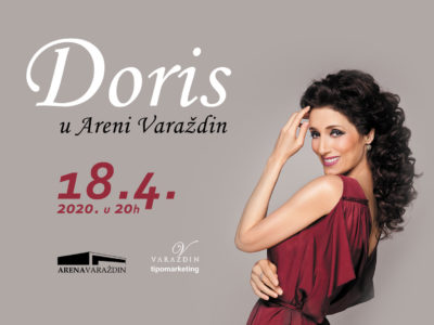 Varaždin nestrpljivo očekuje koncert Doris Dragović nakon rasprodane Arene Zagreb