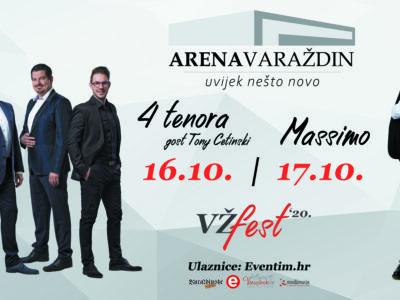 Varaždin Fest u varaždinskoj Areni dovodi velika imena s glazbene scene!